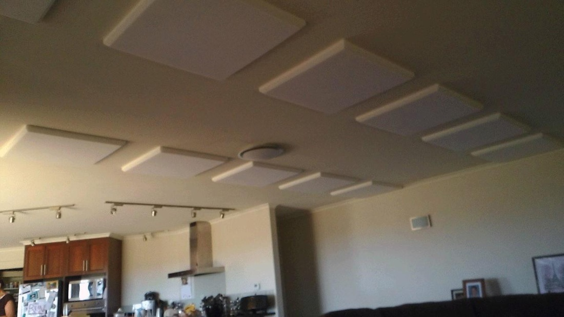 Sound absorbing acoustic panels