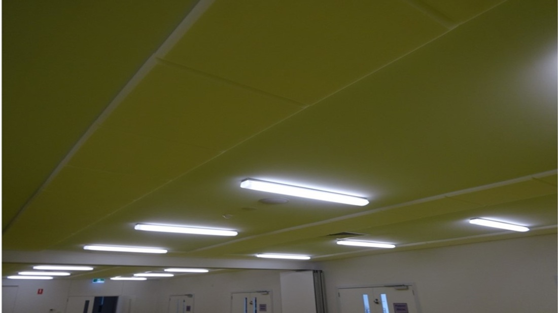 Acoustic Ceiling Panels for Autism School