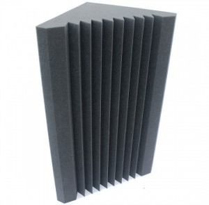 Acoustic-foam-pressure-zone-trap