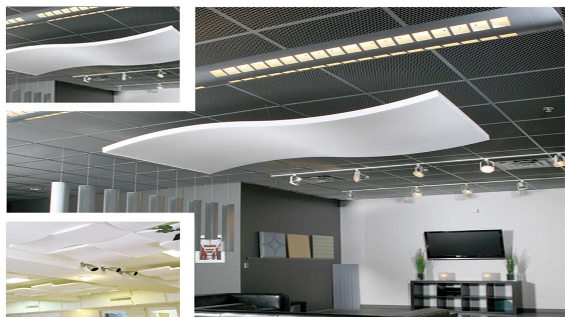Sound Absorption Acoustic Cloud Baffles