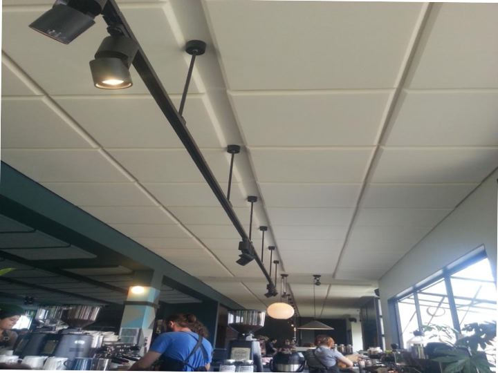 White Sound Absorption Acoustic Panels for Restaurants