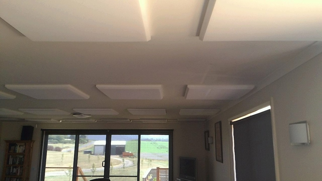 Do it yourself acoustic ceiling panels