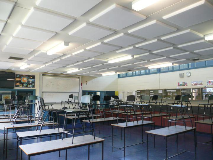Acoustic Insulation Removes Noise from Classrooms