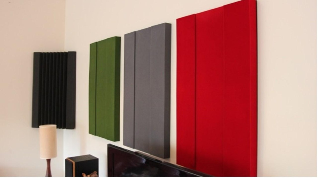 Coloured Acoustic Wall Panels