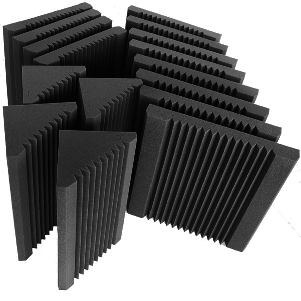 Sound-absorption-acoustic-foam