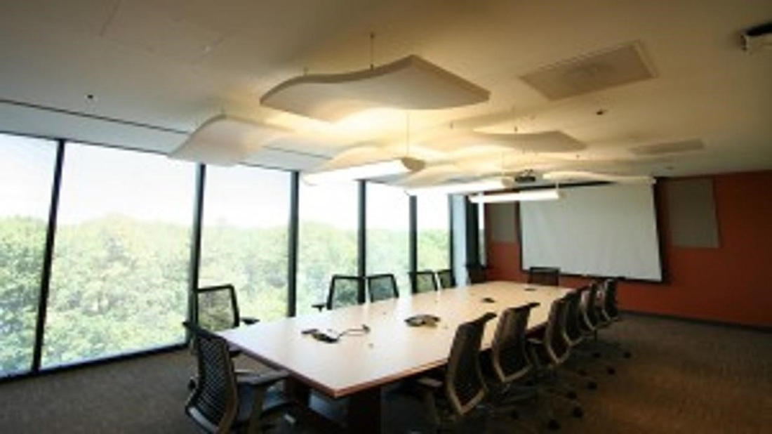 Sound Absorbing Acoustic Cloud Baffles